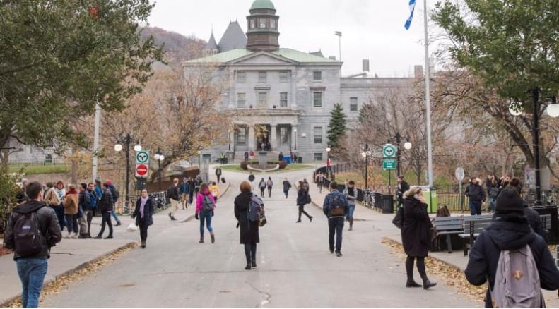 جامعة ماكغيل العريقة في مونتريال/Ryan Remiorz/CP