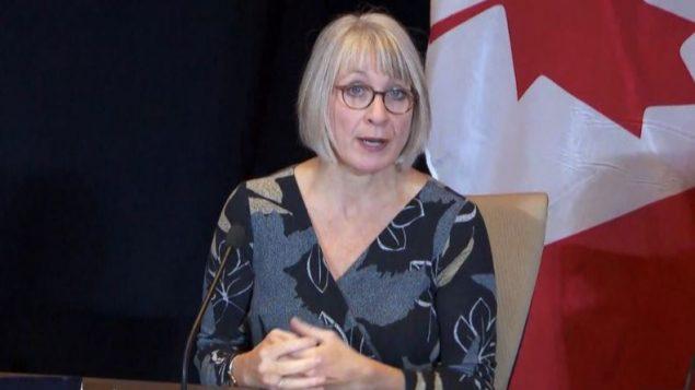 باتي هايدو، وزيرة الصحة الكندية - CBC