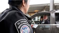 جرى التحقيق مع كنديّين وأميركيّين من أصل إيراني على المعبر الحدودي بين كندا والولايات المتّحدة في 4-01-2020/Elaine Thompson/AP