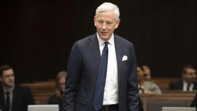 دومينيك بارتون، السفير الكندي لدى الصين منذ سبتمبر أيلول 2019 - Adrian Wyld / The Canadian Press