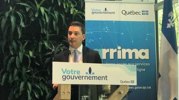 وزير الهجرة في حكومة كيبيك، سيمون جولان باريت - Photo : Samir Bendjafer / RCI