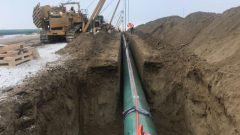 اشترت حكومة ترودو خط الأنابيب والبنية التحتية ذات الصلة به مقابل 4,5 مليار دولار في عام 2018 - Photo : Twitter / @Transmnt