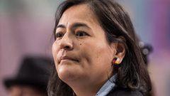 ميشيل أوديت المفوّضة المشاركة السابقة في لجنة التحقيق حول اختفاء ومقتل نساء من سكّان كندا الأصليّين/Darryl Dyck/CP