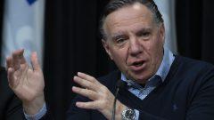 فرانسوا لوغو رئيس حكومة كيبيك أعلن سلسلة إجراءات متشدّدة لمواجهة فيروس كورونا/Jacques Boissinot/CP