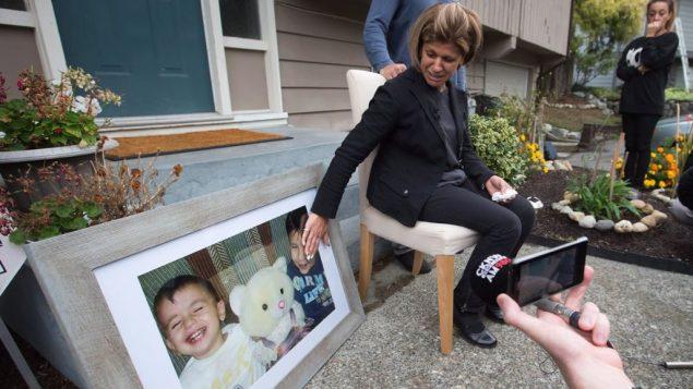 تيما كردي عمّة الطفل إيلان كردي - The Canadian Press / Darryl Dyck