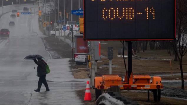 مركز لاختبارات الكشف عن فيروس كورونا المستجدّ في مدينة أوتاوا/مركز لاختبارات الكشف عن فيروس كورونا المستجدّ في العاصمة الكنديّة أوتاوا/Adrian Wyld/CP
