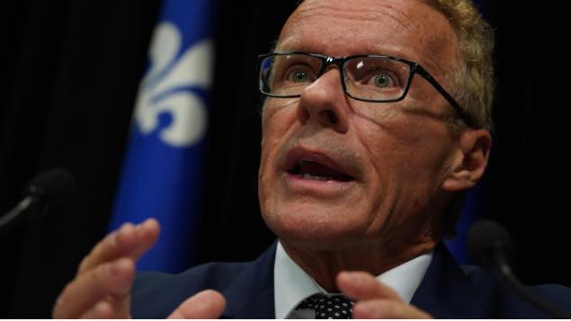 جان بوليه وزير العمل الكيبيك سيتولّى إدارة موقع التطوّع الإلكتروني/Sylvain Roy Roussel/Radio-Canada