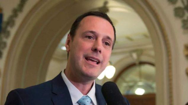 جان فرانسوا روبيرج، وزير التربية والتعليم العالي في كيبيك- Jacques Boissinot / The Canadian Press