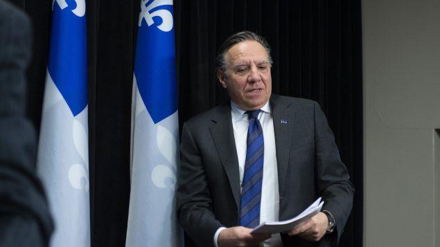 رئيس حكومة كيبيك فرانسوا لوغو وضع خطّة لفتح مدارس المقاطعة منتصف الشهر المقبل/Jacques Boissinot/CP