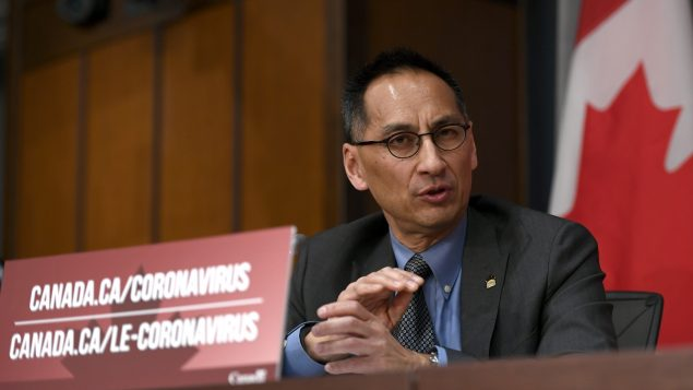 د. هوارد إنجو نائم مدير وكالة الصحّة العامّة في كندا/Justin Tang/CP