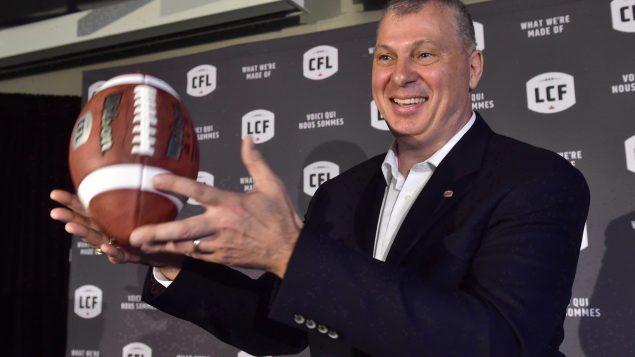 مفوض الرابطة الكندية لكرة القدم، راندي أمبروسي (أرشيف 2017) - The Canadian Press / Frank Gunn