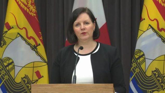 الدكتورة جنيفر راسل، كبيرة الأطباء في مقاطعة نيو برنزويك - Radio Canada