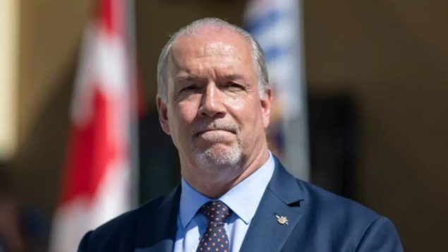 جون هورغن، رئيس حكومة بريتيش كولومبيا - Ben Nelms / CBC