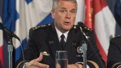 سيلفان كارون رئيس جهاز شرطة مونتريال /Graham Hughes/CP