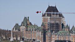 فتدق شاتو فرونتوناك في مدينة كيبيك قبلة أنظار السيّاح من كندا والعالم/Jacques Boissinot/CP