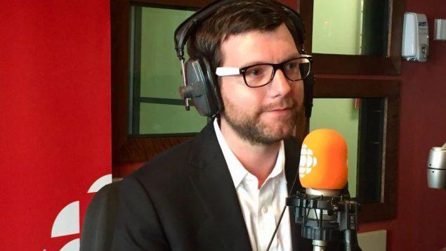 أليكس تيريل، زعيم حزب الخضر في كيبيك - Radio Canada / Jocelyn Corbeil