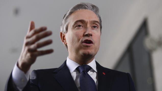 فرانسوا فيليب شامباني، وزير الخارجية الكندي (أرشيف) - Sean Kilpatrick / The Canadian Press