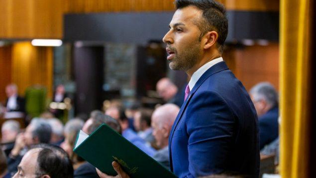 النائب الليبرالي الكندي مروان طبّارة في مجلس العموم (أرشيف 2019) - Photo / Facebook / Marwan Tabbara
