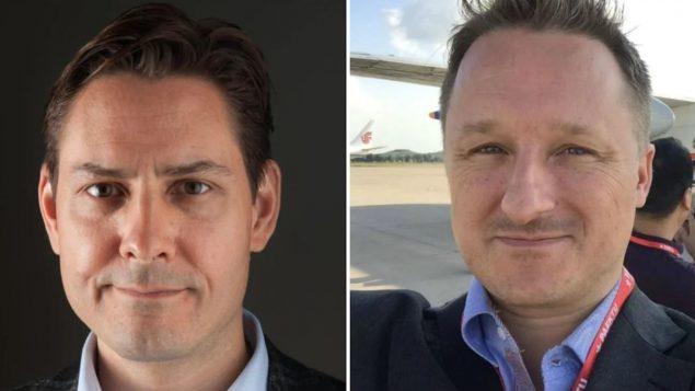مايكل سبافور (إلى اليمين) ومايكل كوفريغ - The Canadian Press