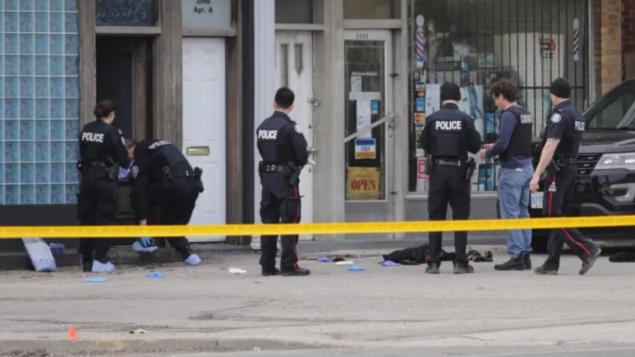 شرطة تورنتو تحقّق في جريمة تشتبه أنّها حدثت بدافع الكراهية/Michael Cole/CBCهيئة الإذاعة الكنديّة
