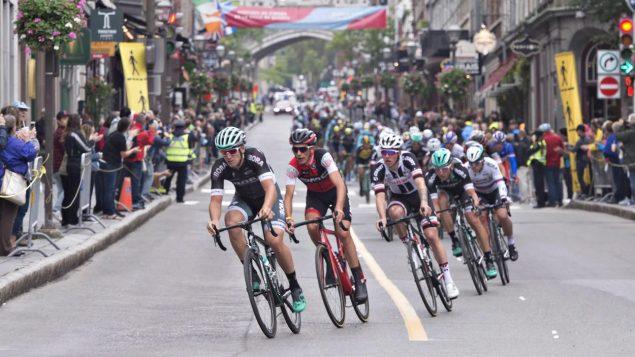 سباق الدراجات الهوائية في مدينة كيبيك في 2017 - The Canadian Press / Jacques Boissinot