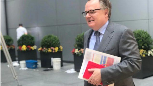 مارك أندريه بلانشار، السفير لكندي السابق لكندا لدى الأمم المتحدة - Melissa Kent / CBC