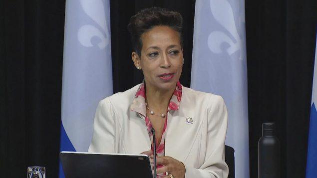 نادين جيرو، وزيرة الهجرة في حكومة كيبيك - RAdio Canada