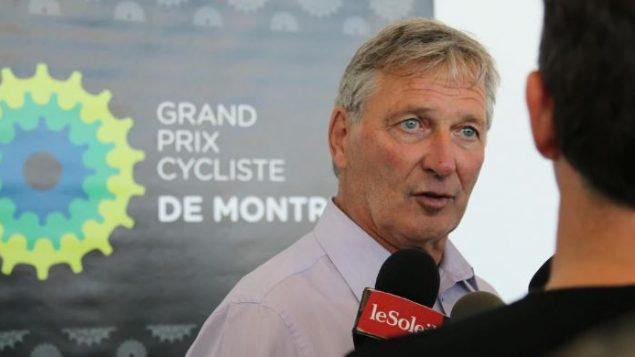 سيرج أرسوسنو، رئيس منظمة سباق الدراجات الهوائية في كيبيك و مونتريال (أرشيف) - Philippe Martin / Radio Canada