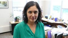 عائشة خان المديرة التنفيذيّة لمتحف حقوق الإنسان الكندي/(Jeff Stapleton/CBC