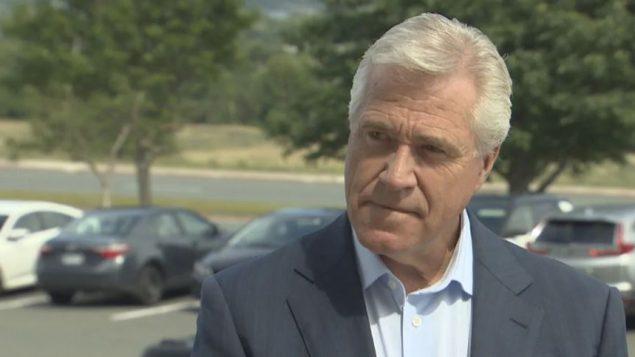 استقال دوايت بول، رئيس حكومة نيوفاوندلاند ولابرادور، في فبراير شباط الماضي - Mark Cumby / CBC