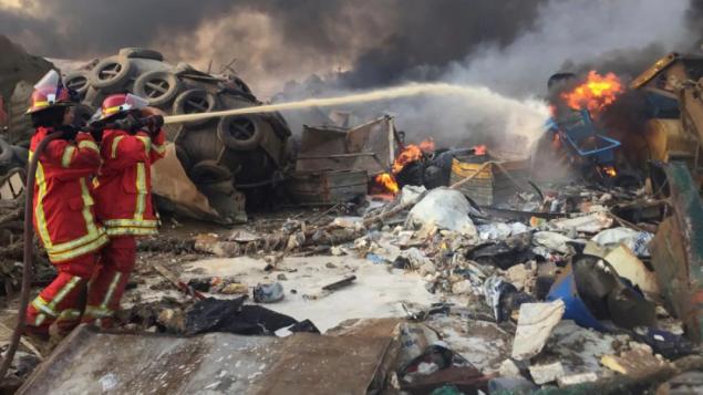 الانفجار المدمّر في مرفأ بيروت غيّر م العديد من أحيئاء المدينة وتسبّب بدمار هائل/Mohamed Azakir/Reuters
