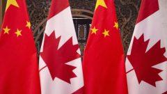 وأثار الحدث جدلا حيث كان من المقرر أن يشمل خطاب القنصل العام الصيني في تورنتو ، هان تاو ، وبثّ النشيد الوطني لجمهورية الصين الشعبية - Associated Press / Fred Dufour