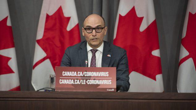 رئيس مجلس الخزينة الفدرالية جان إيف دوكلو (أرشيف) - The Canadian Press / Justin Tang