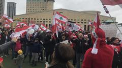 الجالية اللبنانيّة في كندا متضامنة مع أبناء الوطن الأم/Myriam Eddahia / Radio-Canada