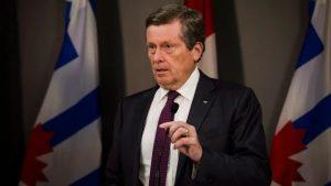 جون توري عمدة مدينة تورونتو/Christopher Katsarov/CP