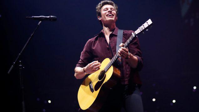 المغني الكندي شون مينديز في حفلة في لو أنجلس في 5 يوليو تموز 2019 - Reuters / Mario Anzuoni