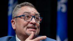 د. أوراسيو أرودا مدير/وكالة الصحّة العامّة في كيبيك/Marco Campanozzi/CP/Pool