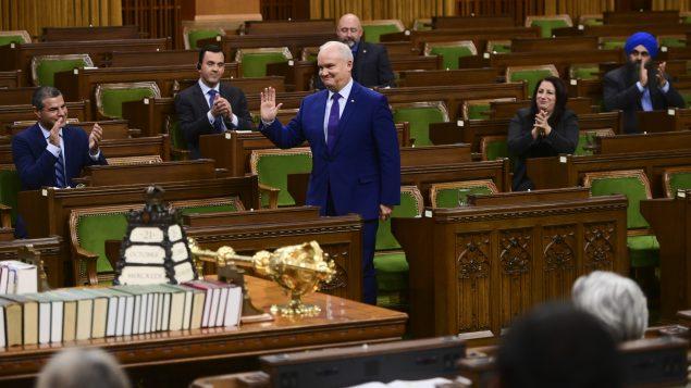 إرين أوتول زعيم حزب المحافظين الكندي/Sean Kilpatrick/CP