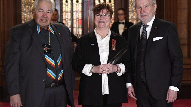 إيفون بواييه عضوة مجلس الشيوخ الكندي تقول إنّ العنصريّة موجودة في النظام الصحّي في كلّ المقاطعات والأقاليم /Justin Tang/CP