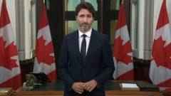 رئيس الحكومة جوستان ترودو دعا الكنديّين إلى تحميل تطبيق إنذار كوفيد على هواتفهم الخليويّة/Bureau du premier ministre