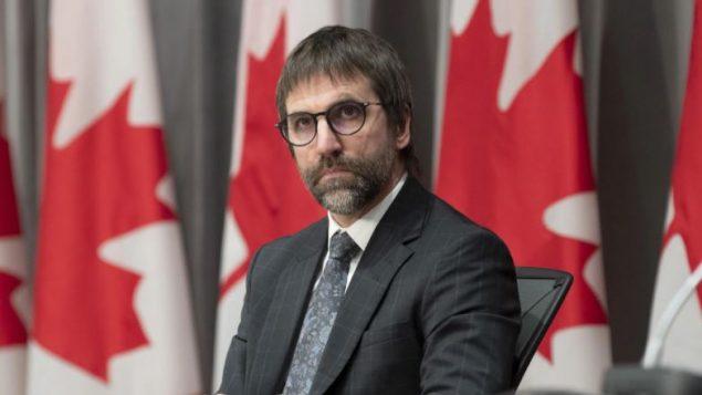 ستيفن غيلبو، وزير التراث الكندي - The Canadian Press / Adrian Wyld