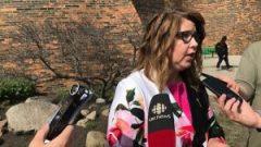 تريسي آلار وزيرة الشؤون البلديّة في ألبرتا/Sam Martin/CBC