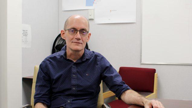 د. مايكل باترسون رئيس الخدمات الطبيّة في إقليم نونافوت/Emma Tranter/CP