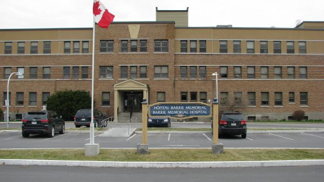 """مارس الطبيب مسعود هرمة مهنته في مستشفى """"باري ميموريال"""" (Barrie Memorial Hospital) في أورمستاون الواقعة جنوب مونتريال وفي عيادة خاصة - Photo : Facebook / Barrie Memorial Hospital"""