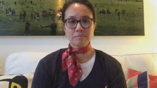 د. كارولين كواش أخصائيّة الأمراض المعدية والوبائيّان في مركز الاستشفاء الجامعي سانت جوستين في مونتريال/ Radio-Canada
