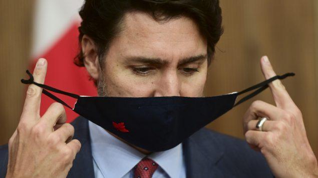 جوستان ترودو، رئيس الحكومة الكندية - 13.11.2020 - The Canadian Press / Sean Kilpatrick