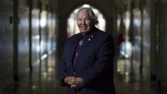 السيناتو موري سانكلير عضو مجلس الشيوخ الكندي كان يرأي لجنة الحقيقة والمصالحة مع السكّان الأصليّين (أرشيف)Adrian Wyld/CP