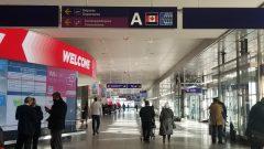 بهو الذهاب في مطار بيار إيليوت ترودو في مونتريال اليوم 18.12.2020 - Photo : Samir Bendjafer / RCI