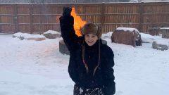 إيزابيلا كولاك من أبناء السكّان الأصليّين تقيم في قرية كامساك في مقاطعة سسكتشوان/HO-Kulak Family/The Canadian Press