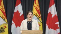 د. جنيفر راسل رئيسة الخدمات الطبيّة في نيو برنزويك/Government of New Brunswick